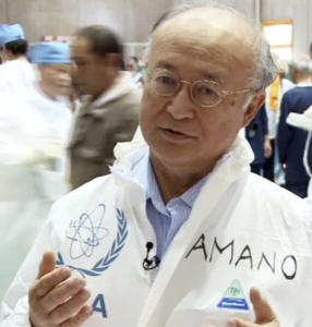 天野之弥(IAEA事務局長)